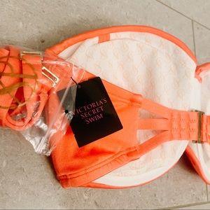 Victoria's Secret Swim - Victoria's Secret Swim Strapless Bathing Suit Top
